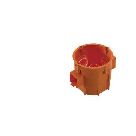 Puszka PK60 Lux głęboka łączeniowa pomarańczowa