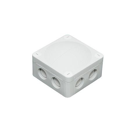 Puszka instalacyjna hermetyczna 85x85x45mm, IP 66, szara