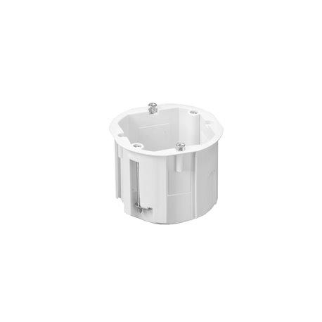 Puszka instalacyjna do płyt gipsowych fi 60 łączeniowa, głęboka, z wkrętami, biała