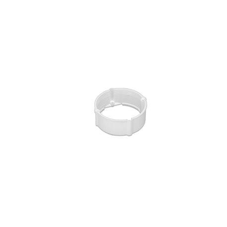 Pierścień dystansowy 24mm do serii puszek instalacyjnych fi 60, wysoki, biały