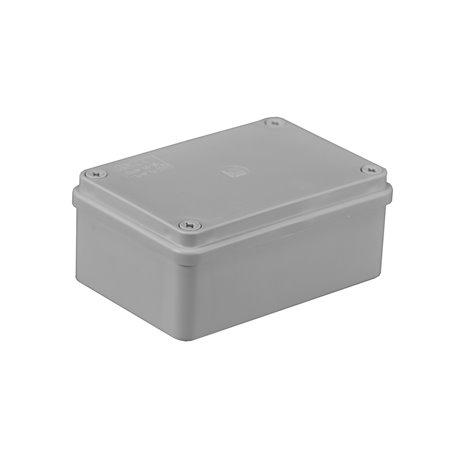 Puszka instalacyjna hermetyczna S-BOX 120x80x50, bez dławików, bezhalogenowa, IP65, szara