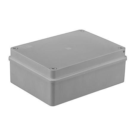 Puszka instalacyjna hermetyczna S-BOX 190x140x70, bez dławików, bezhalogenowa, IP65, szara