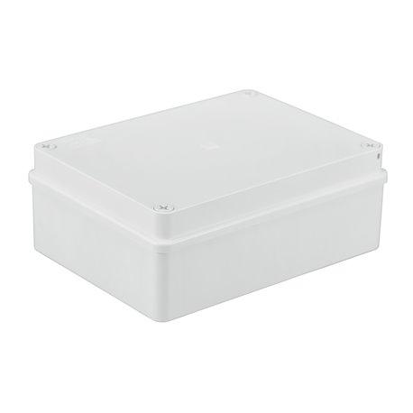 Puszka instalacyjna hermetyczna S-BOX 190x140x70, bez dławików, IP65, biała
