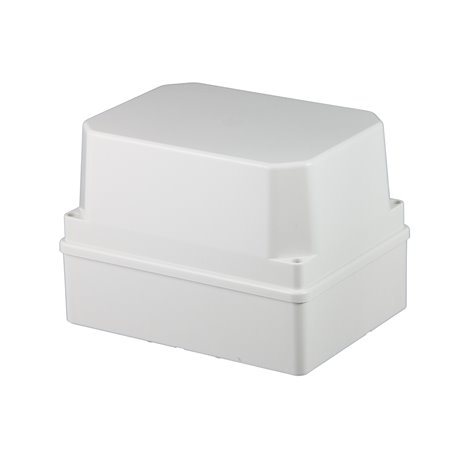 Puszka instalacyjna hermetyczna S-BOX 190x140x70, bez dławików, wysoka, IP56, szara