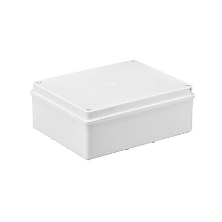Puszka instalacyjna hermetyczna S-BOX 240x190x90, bez dławików, IP65, biała