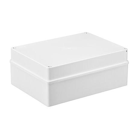 Puszka instalacyjna hermetyczna S-BOX 300x220x120, bez dławików, IP65, biała