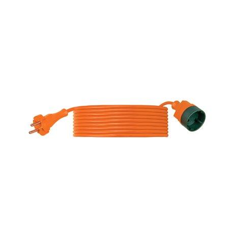 Przedłużacz ogrodowy CLASSIC H03VV F 2x1-20m, igielit, pomarańczowy