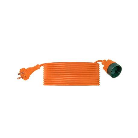 Przedłużacz ogrodowy CLASSIC H03VV F 2x1-30m, igielit, pomarańczowy