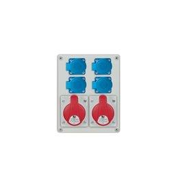 Rozdzielnica R-BOX 240, 2x16A/5p, 4x250V/16A