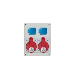 Rozdzielnica R-BOX 240, 2x32A/5p, 2x250V/16A