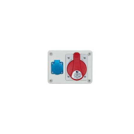 Rozdzielnica R-BOX 150, 1x32A/4p, 1x250V/16A
