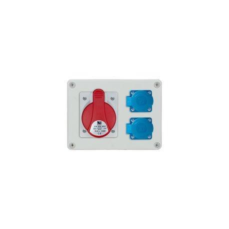 Rozdzielnica R-BOX 190, 1x32A/5p, 2x250V/16A