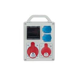 Rozdzielnica R-BOX 240R-4S, 1x32A/4p, 1x16A/4p, 2x250V/16A, zabezp. B20/3, B16/1