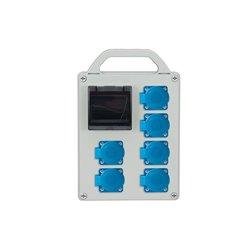 Rozdzielnica R-BOX 240R-4S, 6x250V/16A,zab.różn.prąd 2xB20/1, 1x2/25/0,03