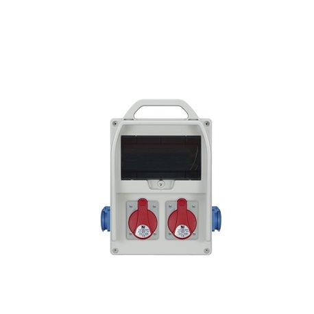 Rozdzielnica R-BOX 300R 9S, 2x32A/5p, 2x250V/16A