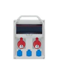 Rozdzielnica R-BOX 380R 13S, 2x32A/5p, 3x250V/16A