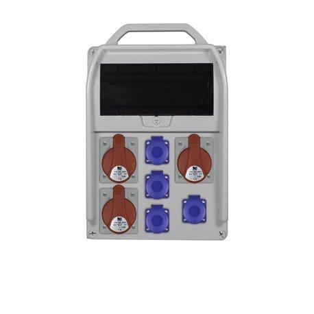 rozdz.R-BOX 382R 11S 3x32/5,4x250V zab.różn.prąd 2xB32/3,B16/1,4/40/0,03