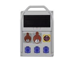 rozdzR-BOX382R 11S 1x16/5,1x32/5,3x250V,L/P zab.różn. prąd B32/3,B16/3,B16/1,4/40/0,03
