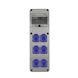 Rozdz.R-BOX SLIM 6S 6x230V