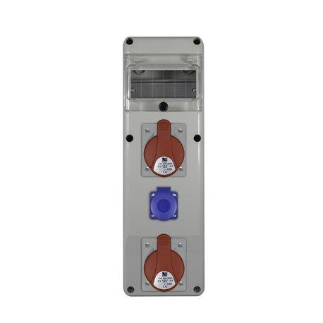 Rozdz.R-BOX SLIM 6S 2x32/5, 1x230V