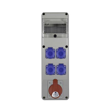 Rozdz.R-BOX SLIM 6S 1x32/5,4x230V