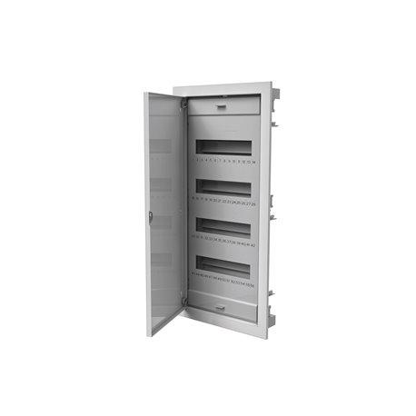 rozdzielnica uniwersalna 48 modułów z metalowymi drzwiami