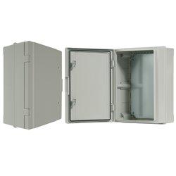 szafka rozdzielcza herm.300x400x170mm IP65, drzwi nieprzeźroczyste