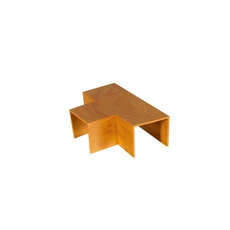 Trójnik do kanału kablowego 25x20mm, imitacja drewna, jasny brąz, opakowanie 10 szt.