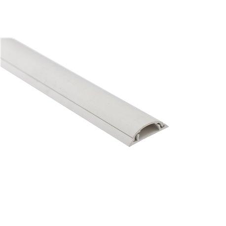 Kanał podłogowy 50x/12mm, biały, opakowanie 16m