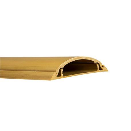 Kanał podłogowy 40x/12mm, imitacja drewna, jasny brąz, opakowanie 16m