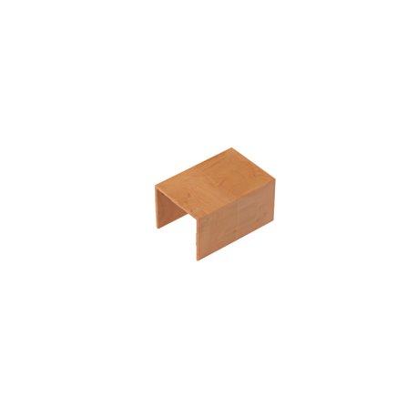 Łącznik do kanału kablowego 100x40mm, imitacja drewna, jasny brąz, opakowanie 4 szt.