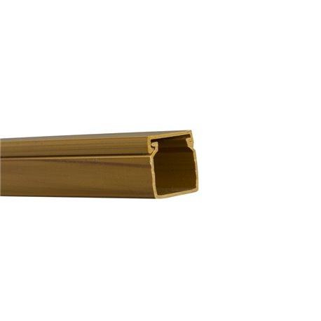 Kanał kablowy 40x40mm, imitacja drewna, jasny brąz, opakowanie 48mb
