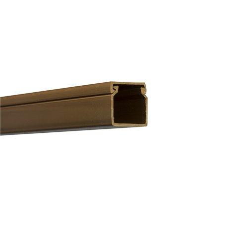 Kanał kablowy 40x40mm, imitacja drewna, ciemny brąz, opakowanie 48mb