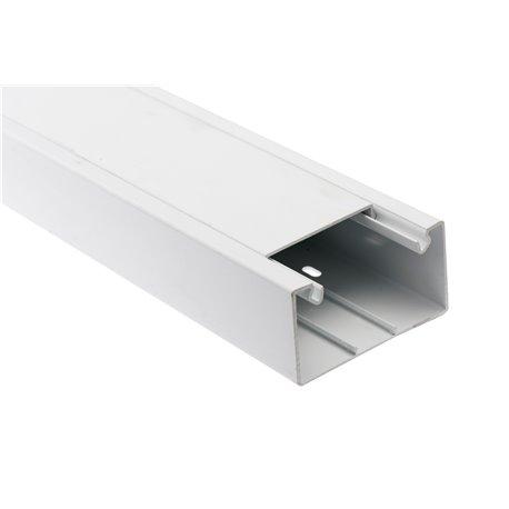 Kanał kablowy 130x40mm, biały, opakowanie 16mb