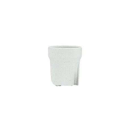 oprawka porcelanowa E27 typ 426 bez blaszki, biała op.400/20