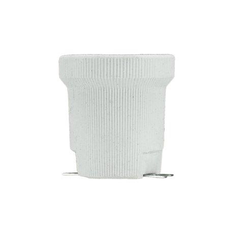 Oprawka porcelanowa E40, biała