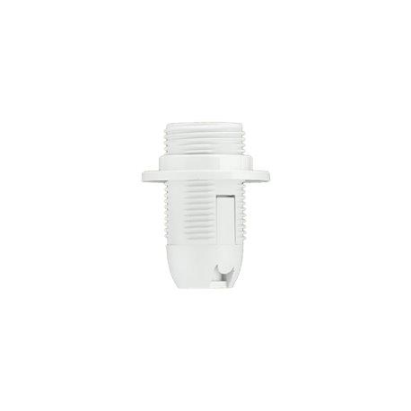 Oprawka termoplastyczna E14-1 z kołnierzem, biała