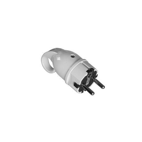 Wtyczka WT16A (250V) uni-schuko, biała