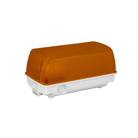 Oprawa oświetleniowa SEZAR, IP44, pomarańczowa