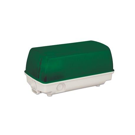 Oprawa oświetleniowa SEZAR, IP44, zielona