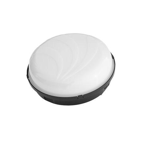 Oprawa oświetleniowa hermetyczna PUMA Oval  60W/PL11, IP65,mleczna, czarna