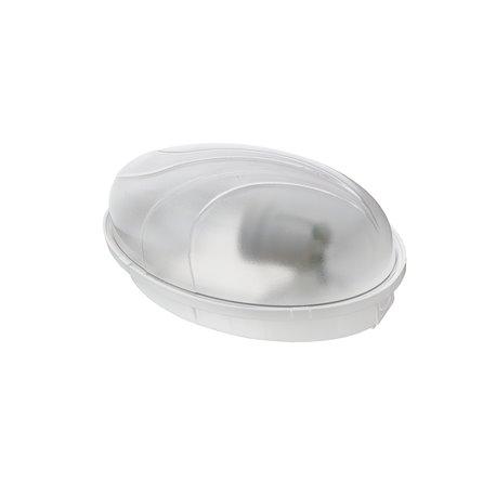 Oprawa oświetleniowa hermetyczna PUMA Oval  60W/PL11, IP65, biała