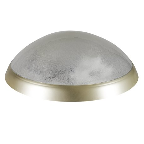 oprawaPANTERA złoty pierścień, klosz przeźroczysty