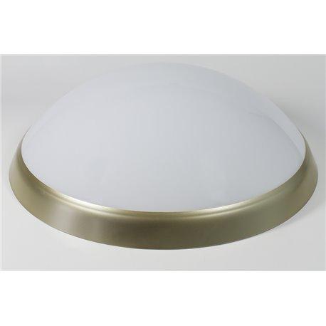 oprawaPANTERA LUX złoty pierścień, klosz mleczny