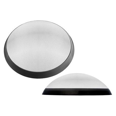 oprawaPANTERA czarny pierścień, klosz przeźroczyst, płytka LED, biały zimny
