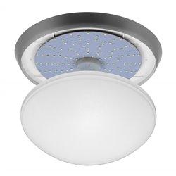 oprawaPANTERA srebrny pierścień, klosz przeźroczysty, płytka LED, biały zimny