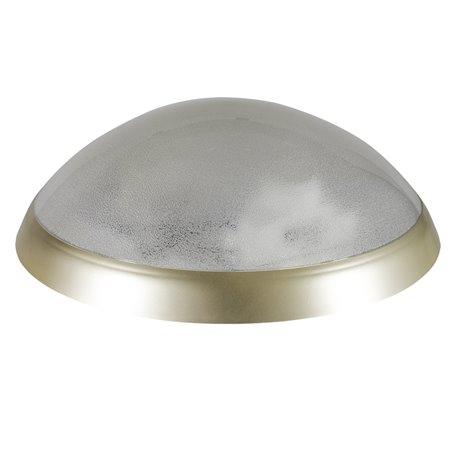 oprawaPANTERA złoty pierścień, klosz przeźroczysty, płytka LED, biały zimny