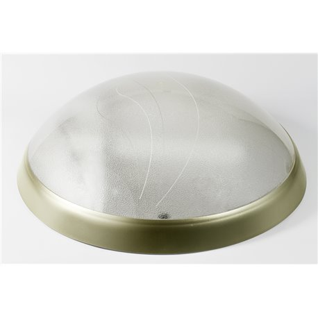 oprawaPANTERA LUX złoty pierścień, klosz przeźroczysty, płytka LED, biały zimny
