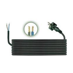 Przewód przyłączeniowy H05RR F 2x1, długość 3m, czarny