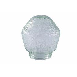 Klosz do oprawy oświetleniowej porcelanowej, kryształ 60W